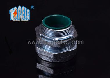 Steel EMT Conduit And Fittings NPT Thread , EMT Compression Connector - Steel