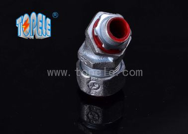 Liquidtight Flexible Conduit And Fittings , Liquid Tight 90 Degree Angle Connector Zinc