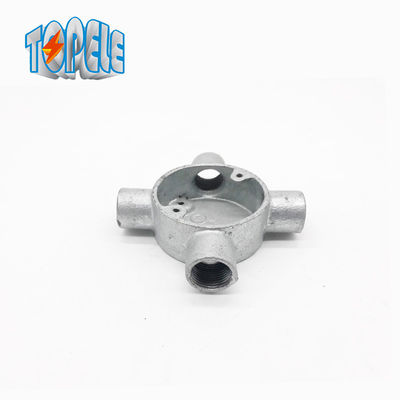 BS Electrical Conduit 4 Way 20mm Aluminum Junction Box